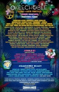 Okeechobee Music & Arts 2016 Lineup