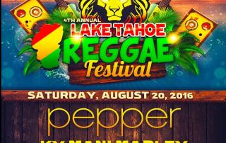 Lake Tahoe Reggae Festival 2016 Lineup