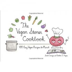 cover of The Vegan Stoner Cookbook