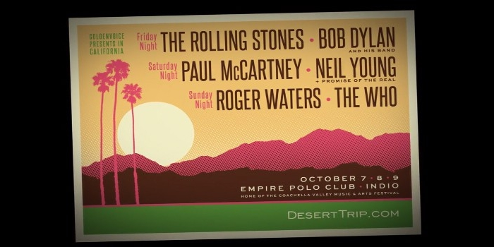 Desert Trip Adds Second Weekend Due to High Demand