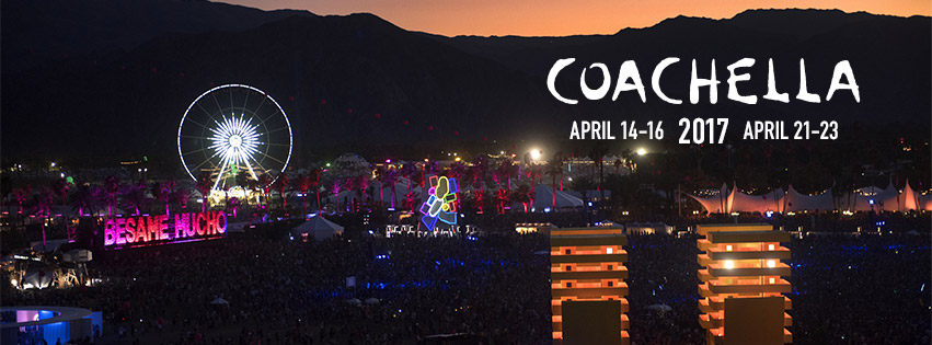 Coachella 2017 dates