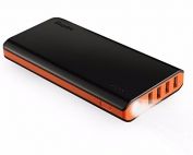 EasyAcc-Monster-20000mAh-Power-Bank-4A-Dual-Input-Fastest-Charge-48A-Smart-Output-External-Battery-Pack-Charger-Portable-Charger-for-Android-iPhone-Samsung-HTC-Black-and-Orange-0
