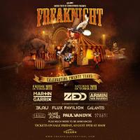 FreakNight 2016 Lineup - Tacoma, WA