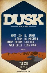 Dusk Music Festival 2016 Lineup