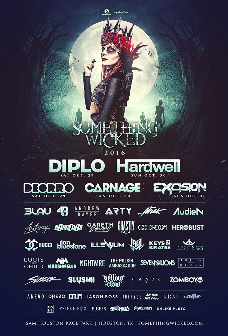 Something Wicked Festival 2016 Lineup