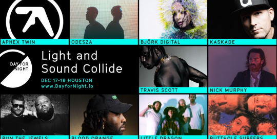 Day for Night 2016 lineup