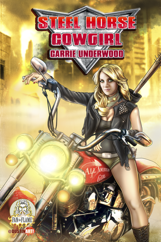 Steel Horse Cowgirl #1