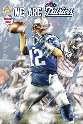 We Are Patriots: Snow Bowl Variant Cover A