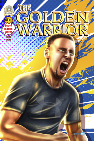 The Golden Warrior: Street Clothes Edition