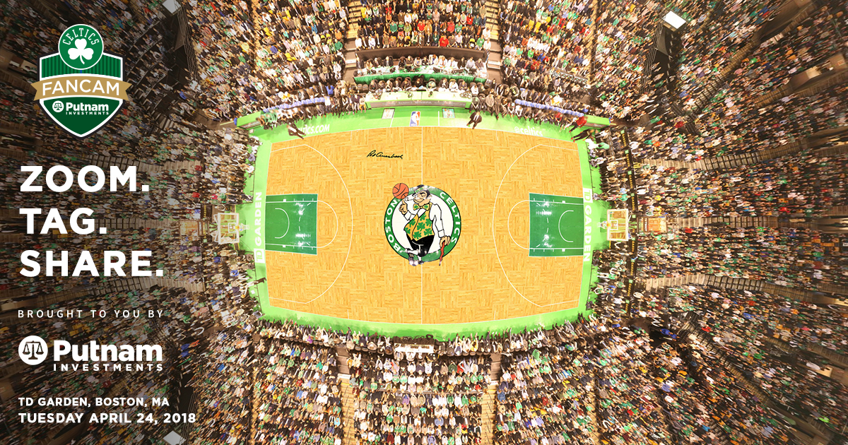 Massive zoomable image of crowd at last night's Celtics win