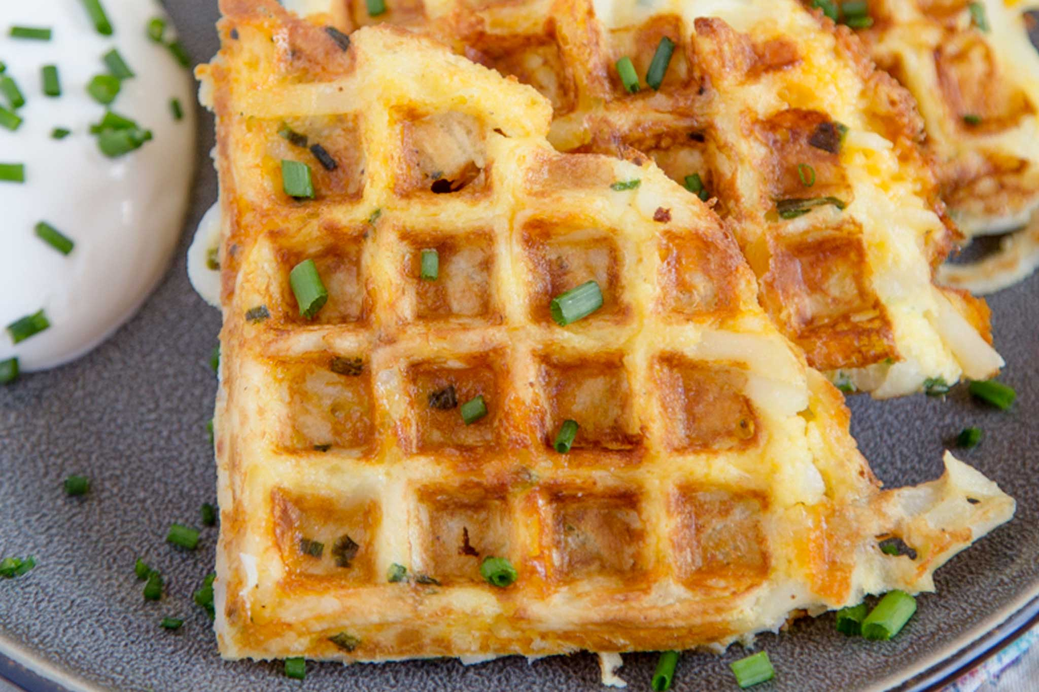 The Foodee Corporate Cookbook: Hashbrown Waffles