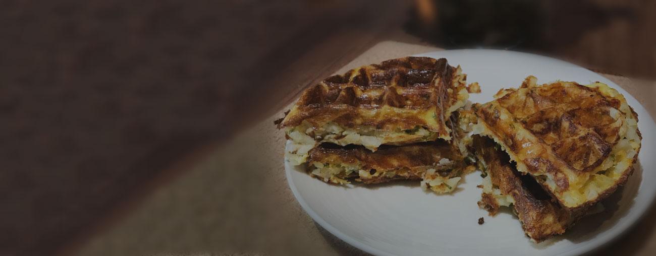 The Foodee Corporate Cookbook: Hashbrown Waffles