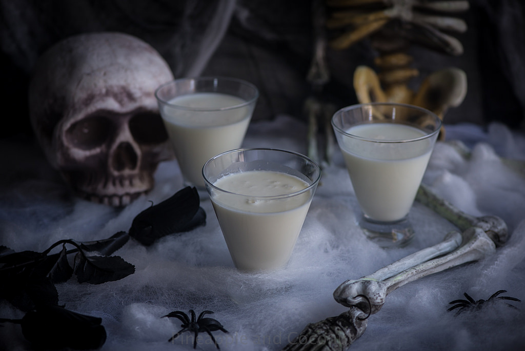 scary cocktails liquid ghost
