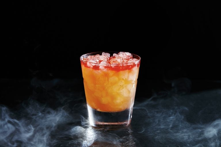 Scary cocktails zombie