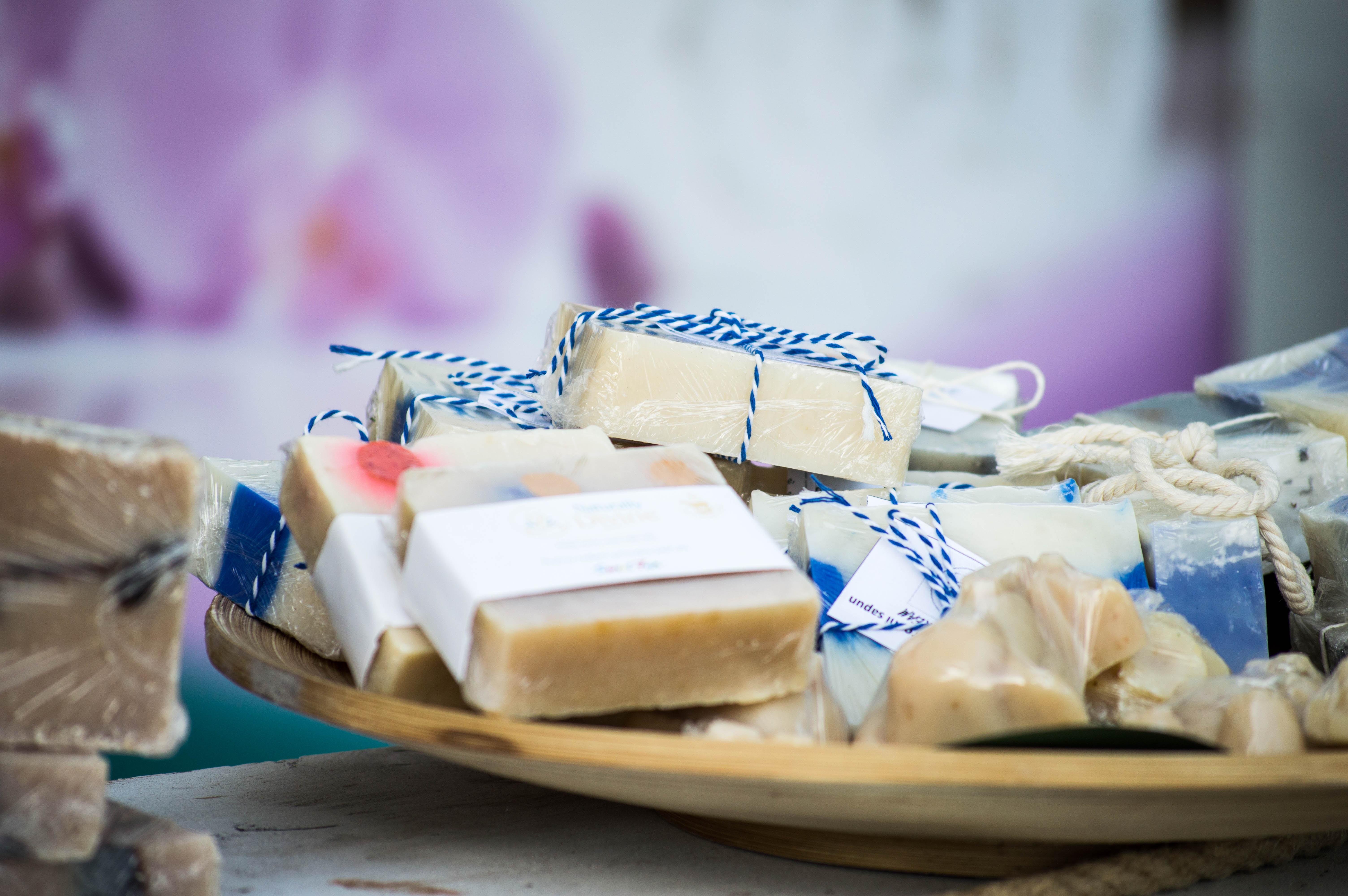fall homesteading soap making