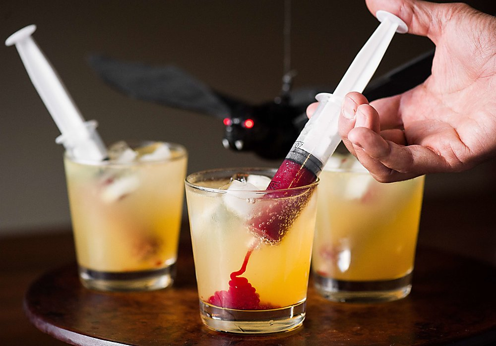 scary cocktails vampire