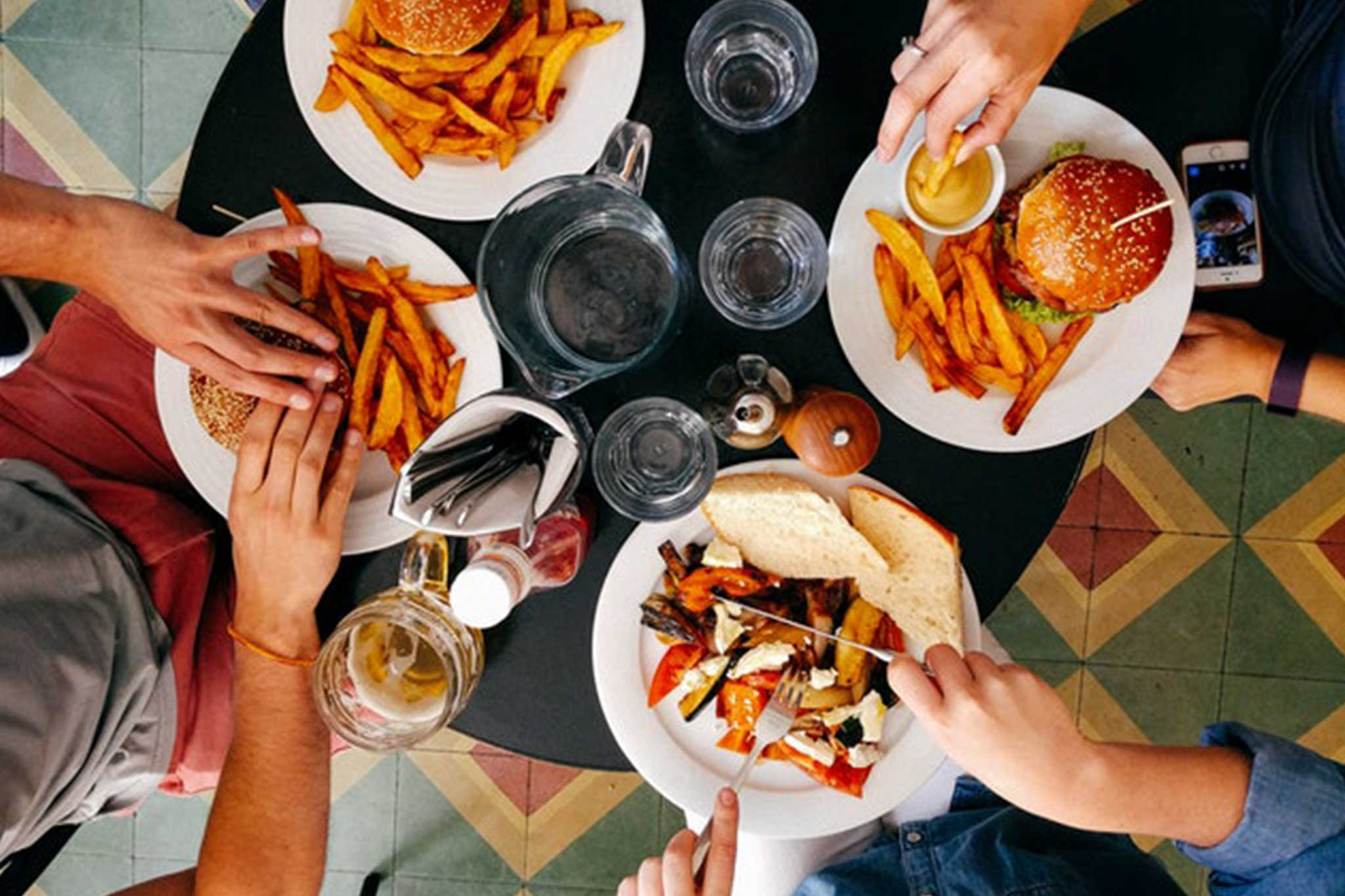 The importance of staff meals