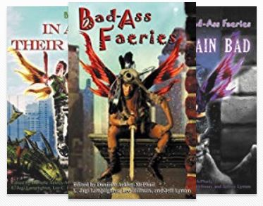 Bad-Ass Faeries Book Series (4 Books)