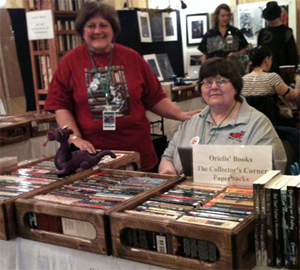 Orielis' Books at StellarCon 2011