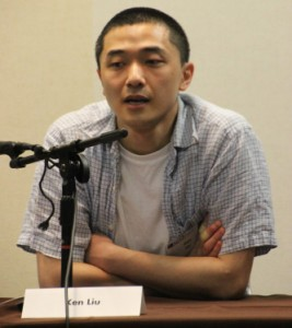 Ken Liu, moderator