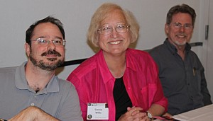 John Scalzi, Connie Willis, Steven Gould