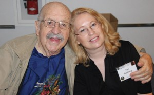 Gene Wolfe and Teri Goulding