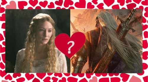 Anomander and Galadriel?