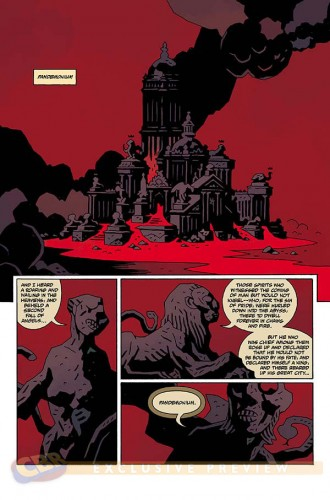 Hellboy in Hell 1