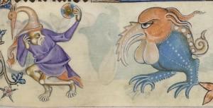 A medieval grotesque