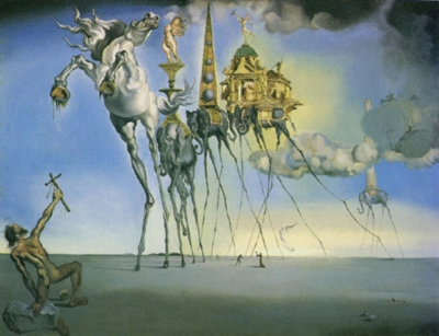 Art by Salvador Dali