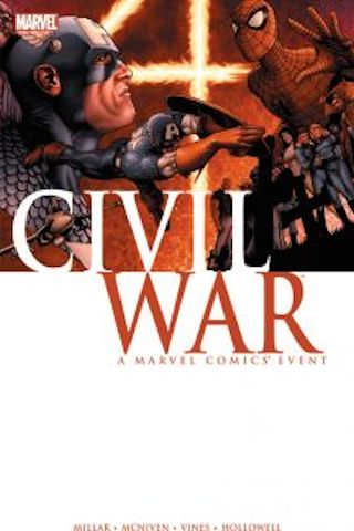 civil war marvel tpb cover