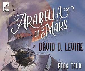 Arabella of Mars Blog Tour Banner