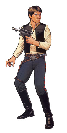 Han Solo back in the day.