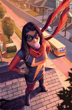 Kamala Khan AKA Ms. Marvel
