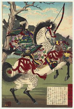 Lady Tomoe Gozen, 12th century Japanese warrior