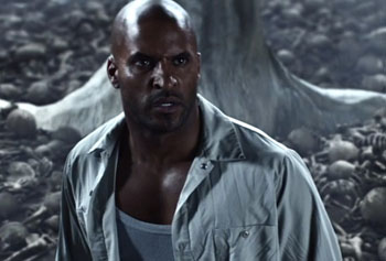 American Gods from Starz (Ricky Whittle as Shadow)