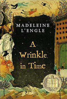 Book Cover, a Wrinkle in Time
