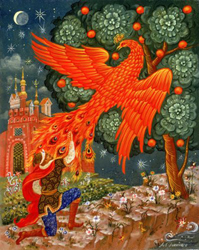 Firebird by Ivan Bilibin