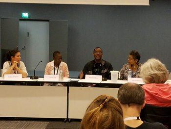 Caribbean SF; Stephanie Saulter, Karen Lord, Brandon O'Brien, Nalo Hopkinson