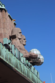 Helsinki Central Terminal, detail.