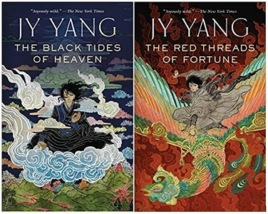 The Black Tides of Heaven & The Red Threads of Fortune by J.Y. Yang