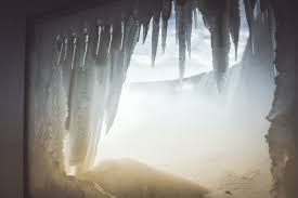 Ice cave courtesy of the Calgary Herald.