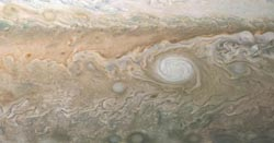 Jovian White Oval. Image courtesy of NASA.