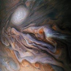 Jovian Close Encounter. Image Courtesy of NASA