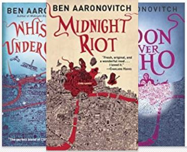 PC Peter Grant Book Series Ben Aaronovitch fantasy book reviews