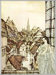 Rackham imagines Ligeia