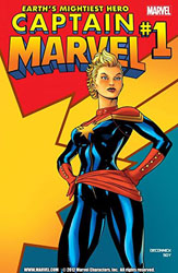 Captain Marvel (Image courtesy of The Comic Book Store)