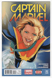 Captain Marvel, 2014 (Image courtesy of The Comic Book Store)