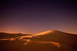 Sand Dunes at Twilight