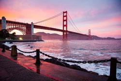 Golden Gate Bridge, image from Pixabay.